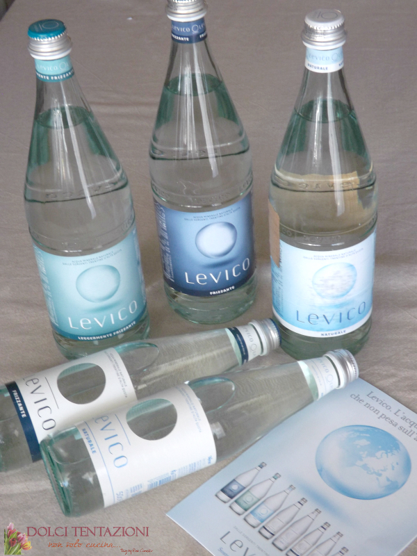 acqua levico. acque