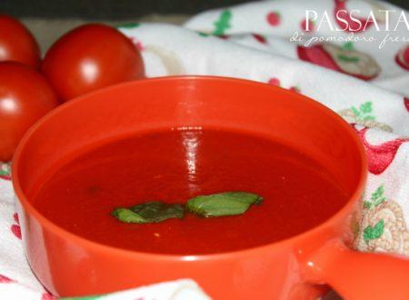 Passata di pomodoro fresco