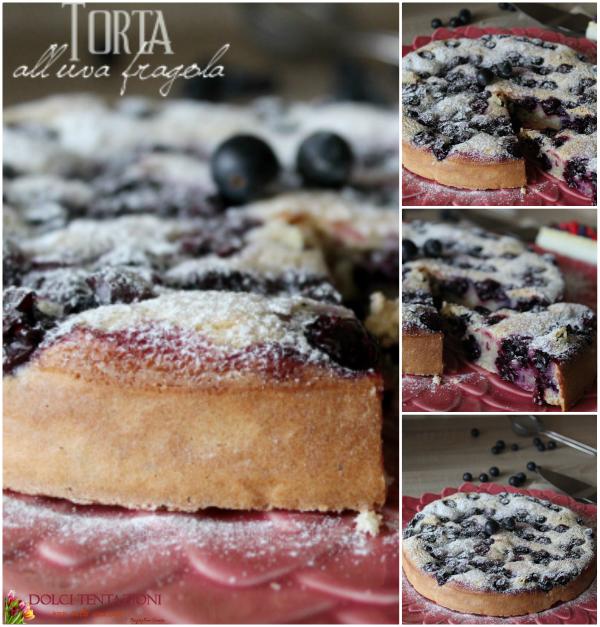 Torta all'uva fragola.blog1
