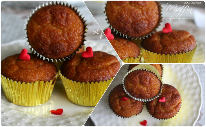 Collage muffin con carote al profumo di arancia.blog