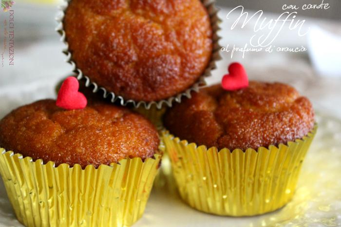 muffin con carote al profumo di arancia.articolo