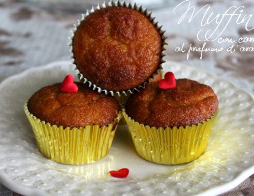 Muffin con carote al profumo di arancia