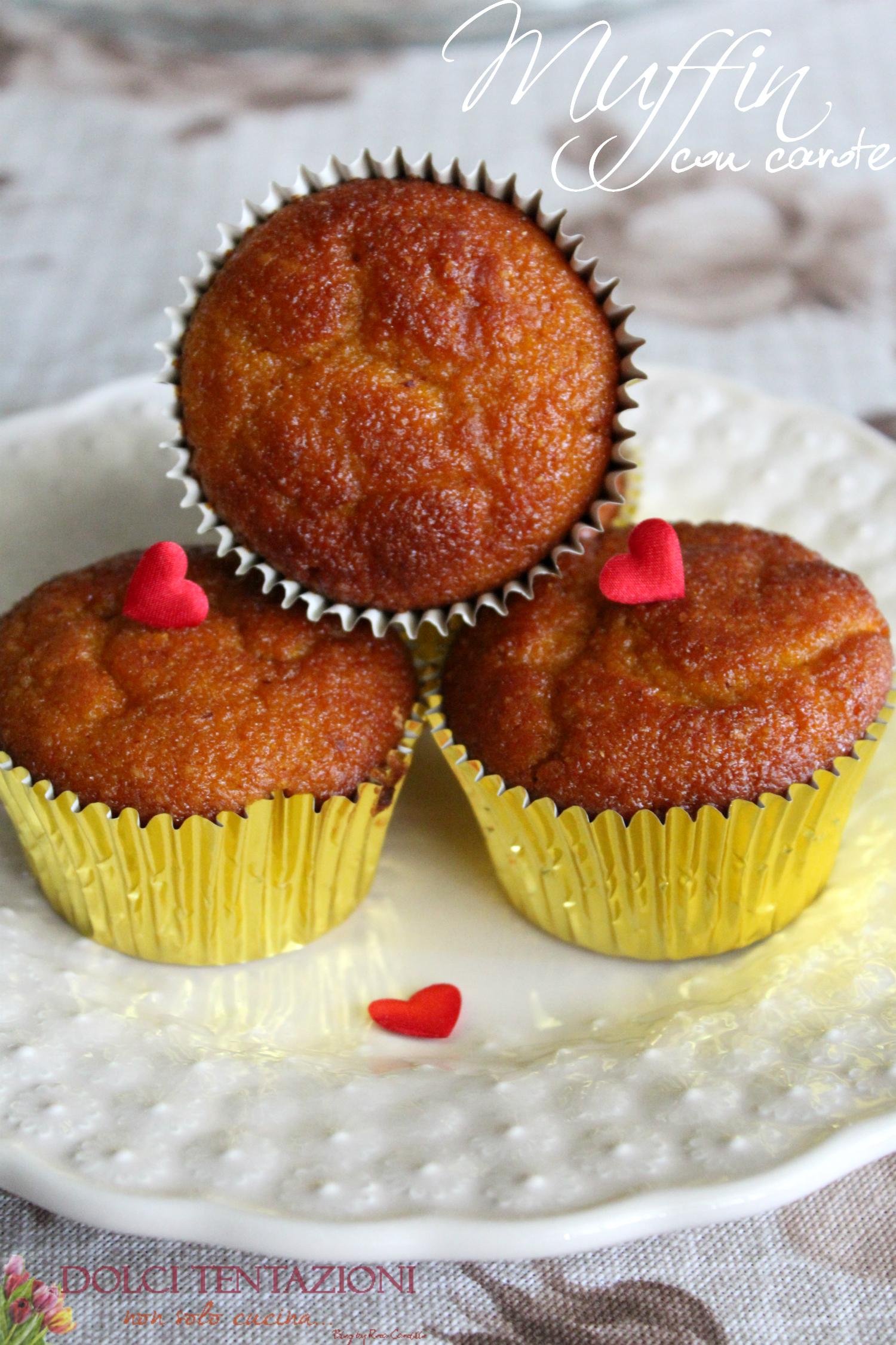 muffin con carote al profumo di arancia.google