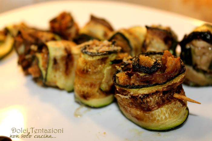 Spiedini di zucchine al tonno.articolo