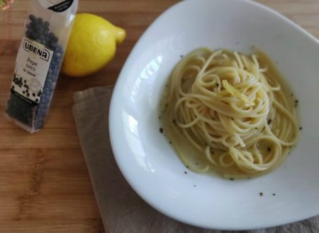Vermicelli al limone e pepe nero
