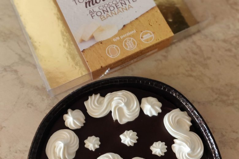 Torta morbida cioccobanana