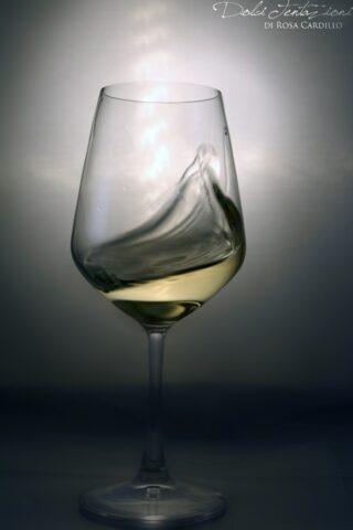 Bicchiere falanghina Corte Normanna