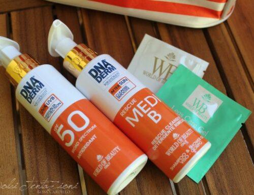 Crema solare ad alta protezione World of beauty