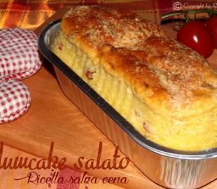 Plumcake salato – Ricetta salva cena