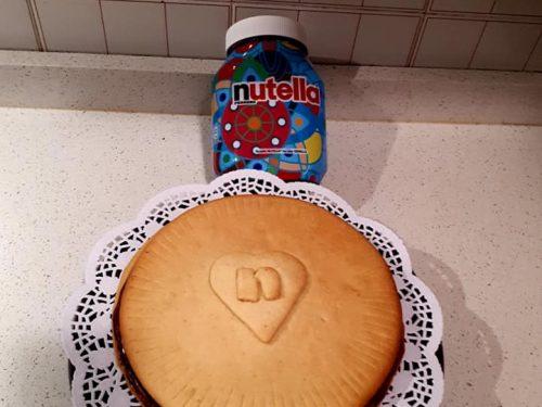 TORTA NUTELLA BISCUIT