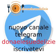 RICETTE SU TELEGRAM