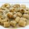 Mezze maniche in crema vegetale e grana