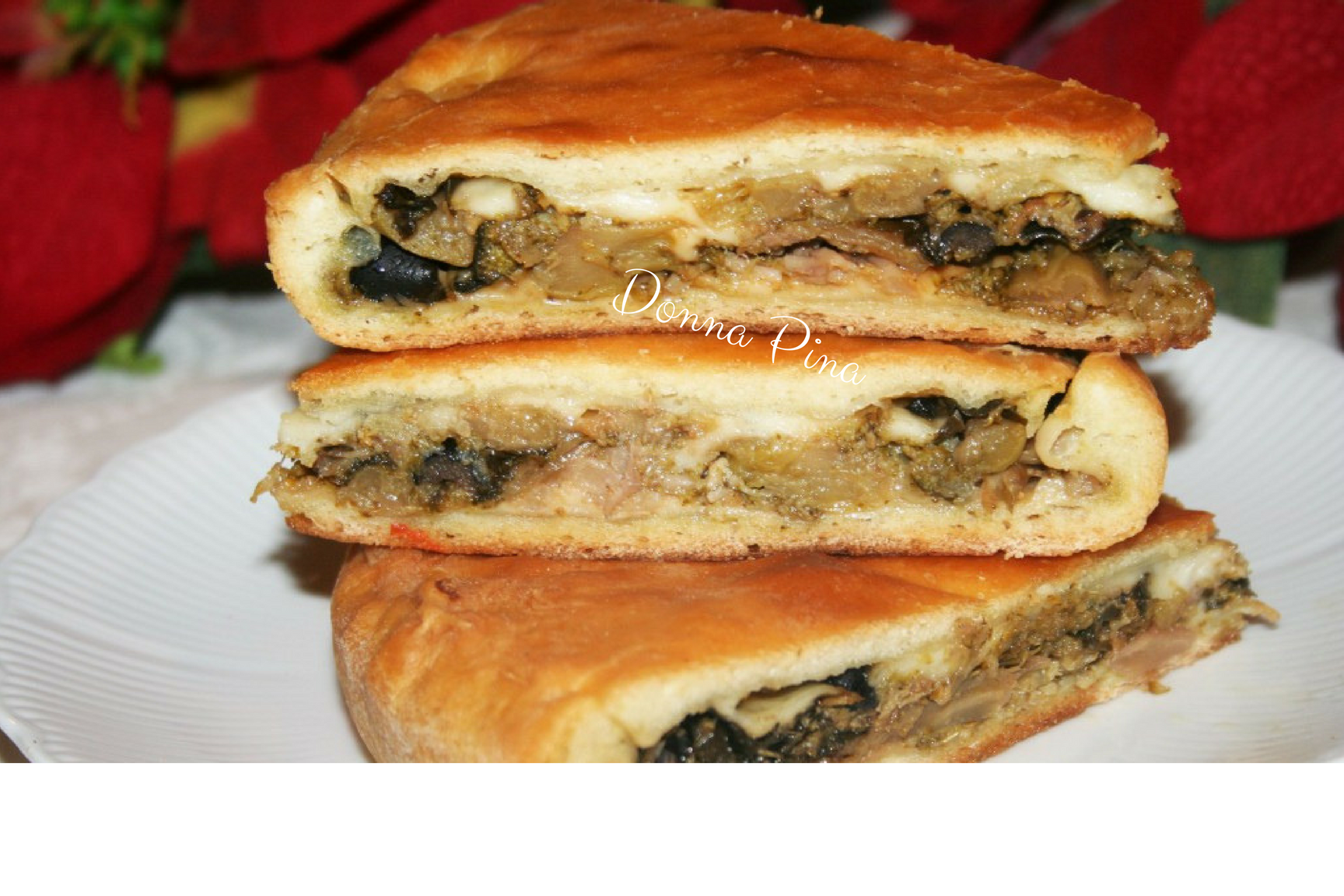 Scacciata catanese con broccoli affogati
