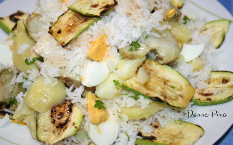 Insalata sfiziosa di riso basmati