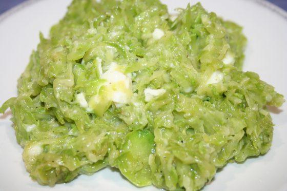 Fili di zucchine con formaggio cremoso * Ricetta facile e veloce