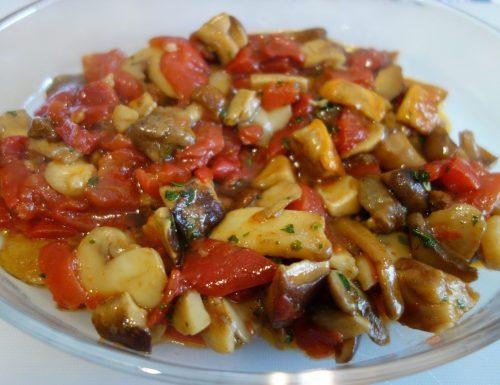 Funghi misti in padella: ricetta facile e veloce 😋