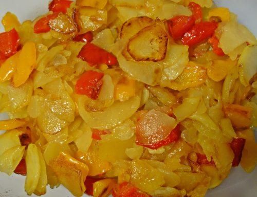 Peperoni e patate alla maniera di mamma