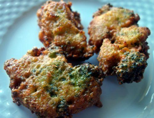 Frittelle con broccoli