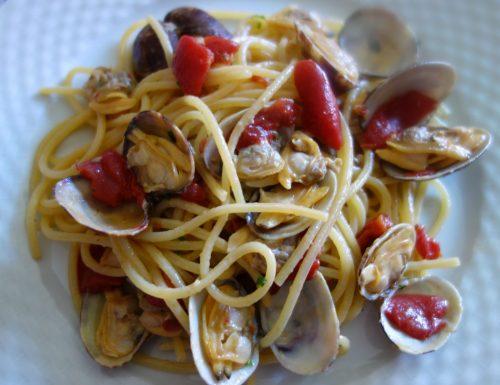 Spaghetti scanalati con vongole veraci 😍
