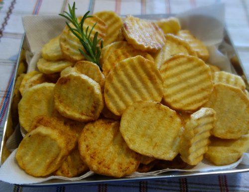 Patate con rosmarino ed aglio, fritte 🤩