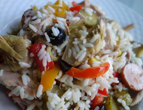 Insalata di riso: buona, leggera, allegra, sostanziosa 🤩