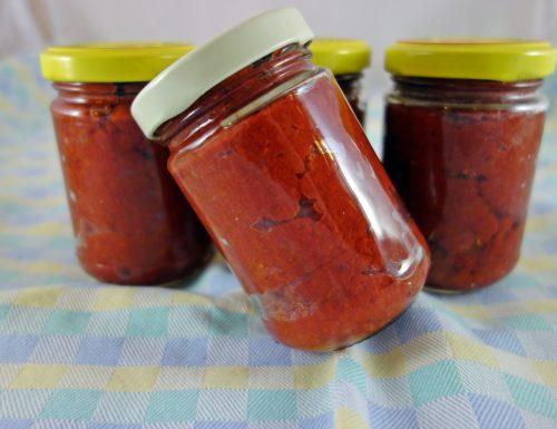 Il concentrato di pomodoro fatto in casa