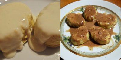 Flan di topinambur e patate: raffinato piacere