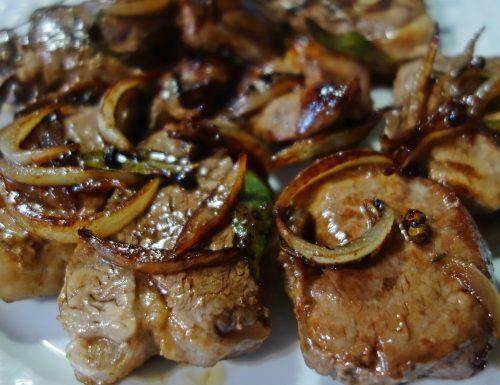 Filetto di maiale al balsamico e cipolle 😋
