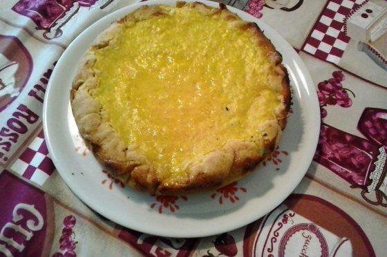 Torta di riso all'arancia