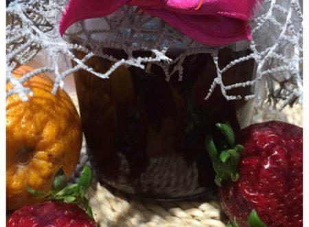 Confettura di fragole ed arance