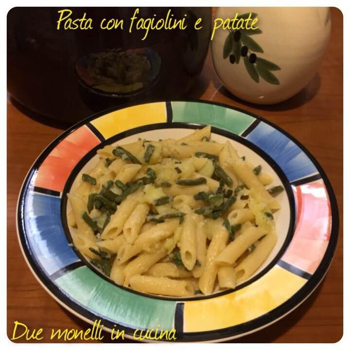 Pasta con fagiolini e patate