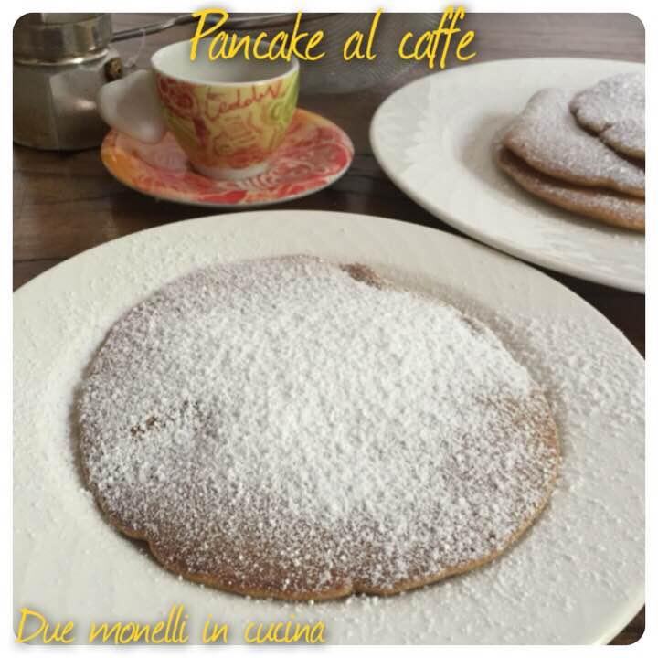 Pancake americani al caffè