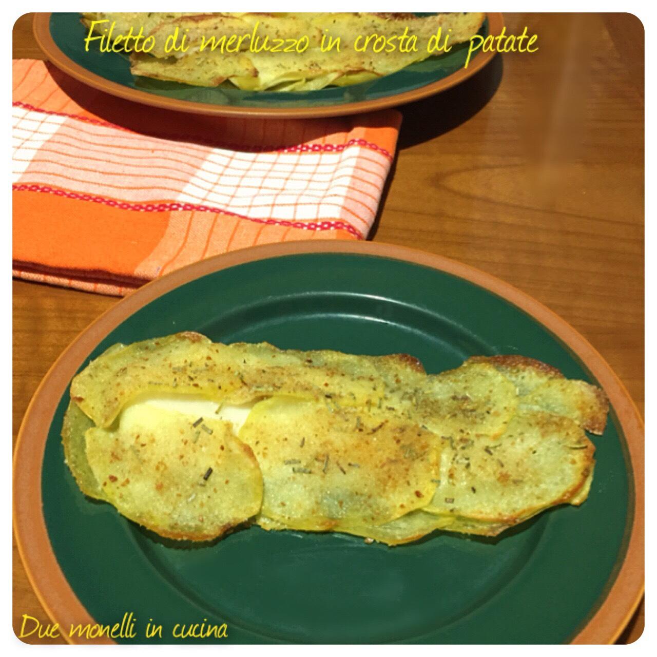 Filetto di merluzzo in crosta di patate