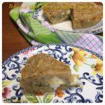 Pasticcio di polenta al forno con broccoli e scamorza