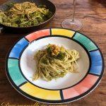 Pasta con alici broccoli e pangrattato