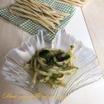 Pasta con polipetti e broccoli
