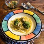 Pasta broccoli e salmone
