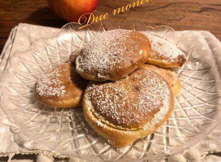 Mele in pastella al forno