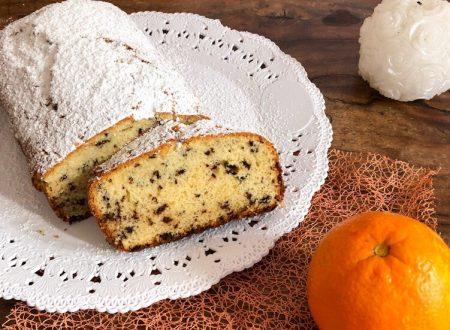 Plumcake arance e cioccolato