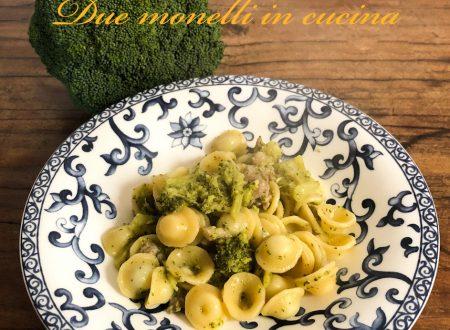 Orecchiette salsiccia e broccoli