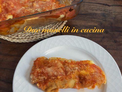 Cannelloni con crepes