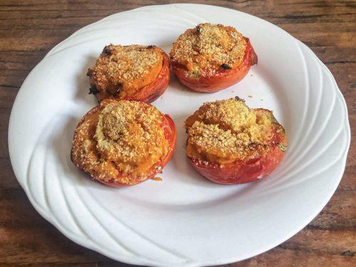 Pomodori ripieni al forno gratinati