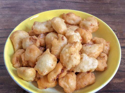 Frittelle con cavolfiore