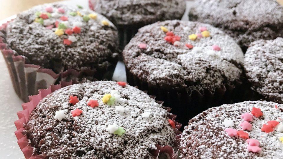 Muffin cacao e cannella