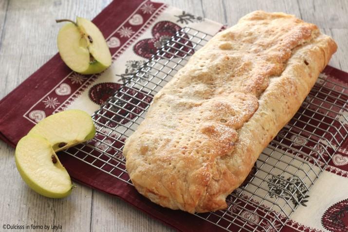 Strudel di mele con pasta sfoglia pronta