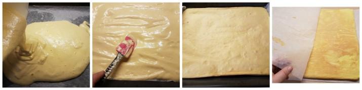 Rotolo con panna e fragole, ricetta Rolade panna e fragole Dulcisss in forno by Leyla