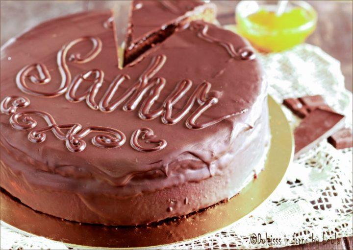 Torta Sacher ricetta originale austriaca facile e PERFETTA