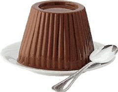 Budino di cioccolato al latte, ricetta semplice