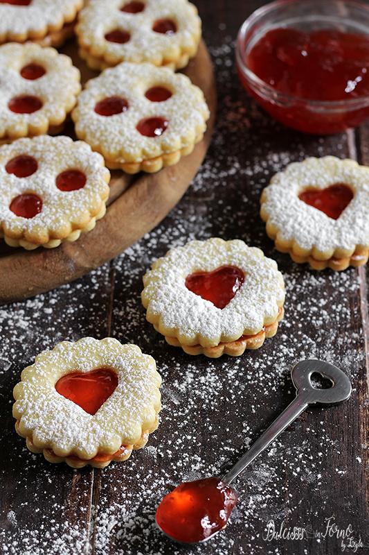 Spitzbuben ricetta biscotti di Natale   Dulcisss in forno by Leyla