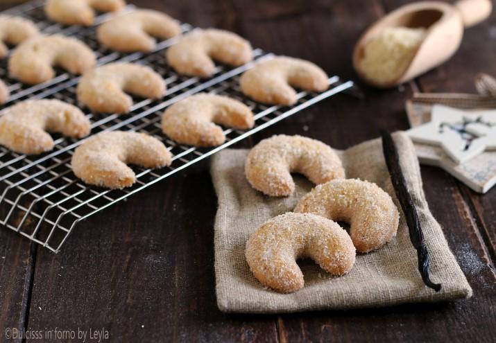 Vanillekipferl, ricetta originale dei biscotti cornetti alla vaniglia